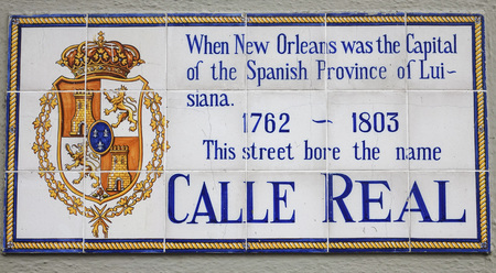 french quarter: Calle Real - Royal Street in New Orleans French Quarter