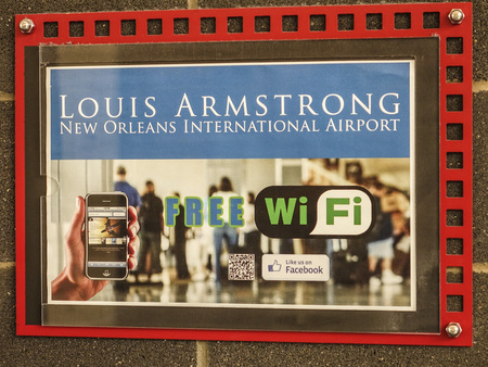 louis armstrong: Wifi at Louis Armstrong New Orleans International Airport