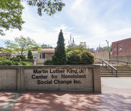 martin luther king: Martin Luther King Center in Atlanta