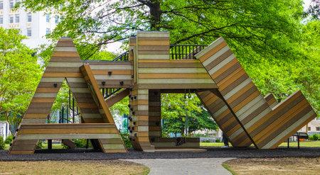 atl: ATL Kids Playground in Atlanta at Woodruff Park