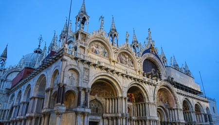 st marks square: Amazing Basilica San Marco in Venice St Marks square