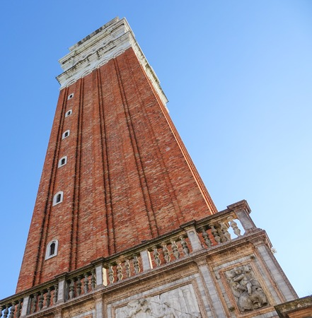 Campanile Tower at St Marks square in Venice - San Marco