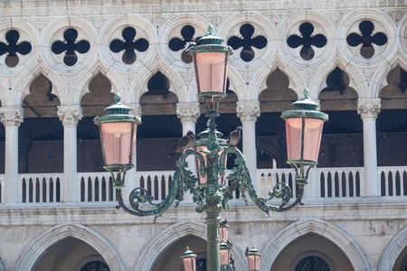 doge: Famous Doge s Palace in Venice - Palazzo Ducale Stock Photo