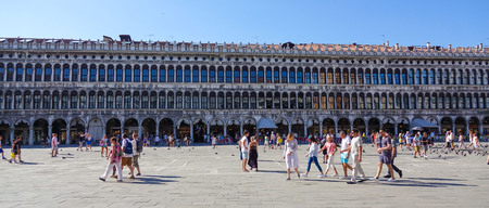 st marks square: Famous St Marks Square in Venice - Piazza San Marco