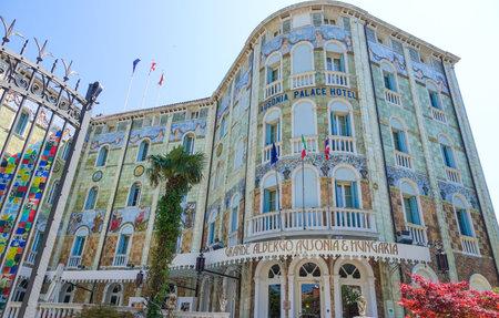lido: Famous and luxury Ausonia Palace Hotel in Lido Venice