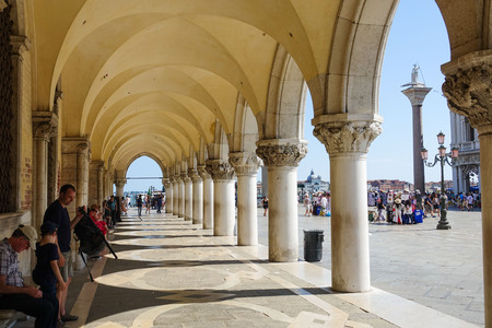 doge: The Colonnades of Doge s Palace - Palazzo Ducale