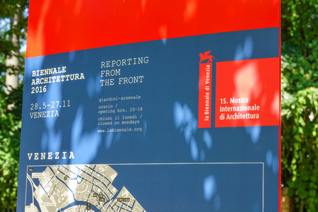 information point: Information Point of the Biennale di Venezia