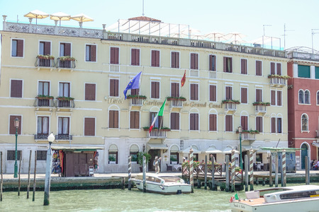 grand canal: The Carlton Hotel in Venice at Grand Canal