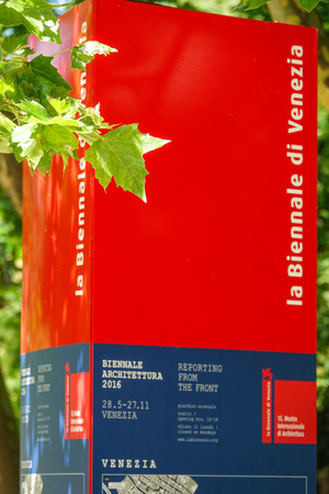 venezia: Information Point of the Biennale di Venezia