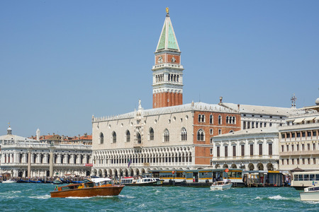 st  mark's square: Doge s Palace and Campanile San Marco at St Marks Square