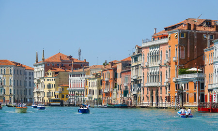grand canal: Amazing Canale Grande - Grand Canal in Venice Editorial