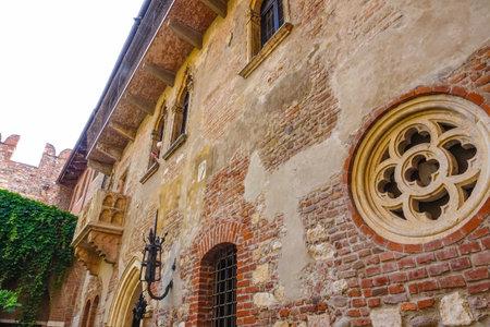 juliet: Famous Juliet s house in Verona - Casa di Giulietta Editorial