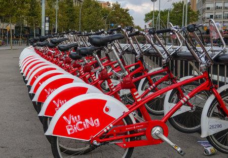 Rental bikes in Barcelona