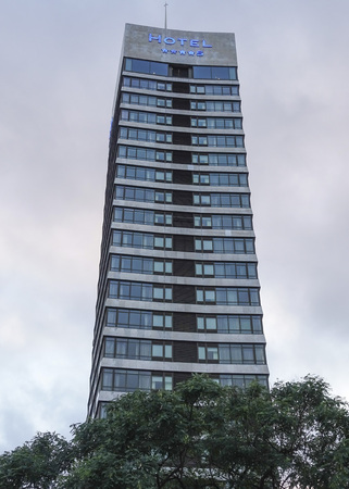 4 star: Big 4 star hotel Torre Catalunya in Barcelona Editorial