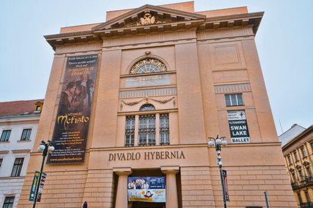 Hybernia Theater and Opera in Prague - PRAGUE / CZECH REPUBLIC - MARCH 20, 2017