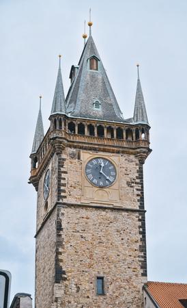Old City Hall Tower in Prague 版權商用圖片