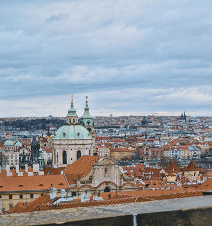 The City of Prague - wonderful view from Prague Castle