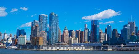US Intrepid Battleship and Museum in Manhattan- MANHATTAN  NEW YORK - APRIL 1, 2017 Editorial