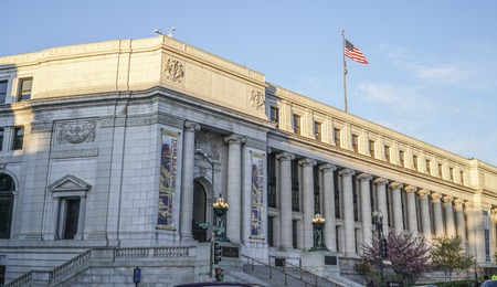 United States Post Office, Dorothy Height Branch in Washington - WASHINGTON DC - COLUMBIA - APRIL 7, 2017