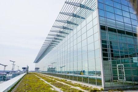 Frankfurt Airport - Terminal 2 - FRANKFURT - GERMANY - APRIL 1, 2017