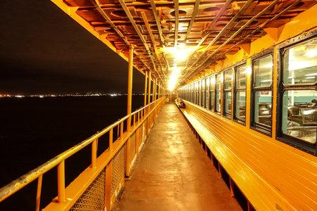 Staten Island Ferry New York - NEW YORK CITY - NEW YORK - APRIL 2,2017