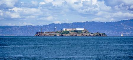 alcatraz: Alcatraz Island and prison in San Francisco - SAN FRANCISCO - CALIFORNIA - APRIL 18, 2017