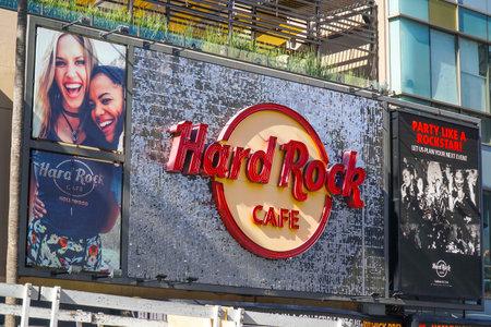 Hard Rock Cafe in Hollywood Los Angeles - LOS ANGELES - CALIFORNIA - APRIL 20, 2017