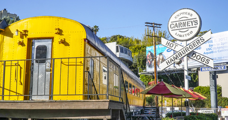 Carneys at Sunset Boulevard in Los Angeles - LOS ANGELES - CALIFORNIA - APRIL 20, 2017