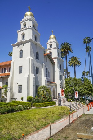 Small church in Beverly Hills - LOS ANGELES - CALIFORNIA - APRIL 20, 2017