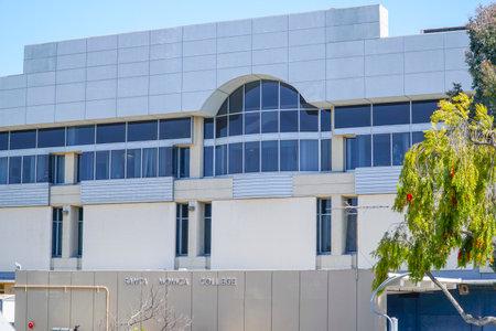 Santa Monica College in Los Angeles - LOS ANGELES - CALIFORNIA - APRIL 20, 2017