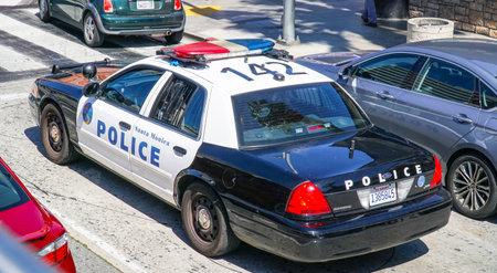 Santa Monica Police Car - LOS ANGELES - CALIFORNIA - APRIL 20, 2017