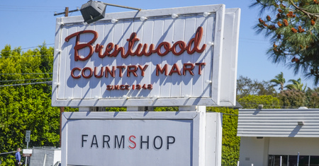 Famous Brentwood Country Market in Los Angeles - LOS ANGELES - CALIFORNIA - APRIL 20, 2017