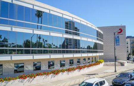Sony Music Headquarter in Los Angeles - LOS ANGELES - CALIFORNIA - APRIL 20, 2017 Editorial