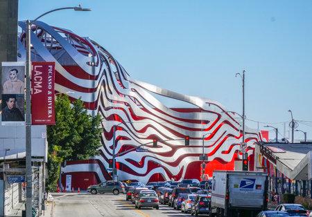 Petersen Automotive Museum in Los Angeles - LOS ANGELES - CALIFORNIA Editorial