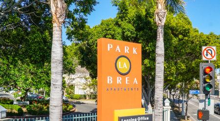 Park La Brea Apartments - LOS ANGELES - CALIFORNIA Editorial