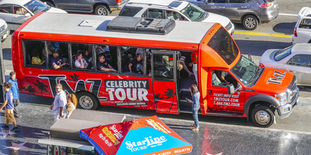 Celebrity Tour by bus in Hollywood - LOS ANGELES - CALIFORNIA