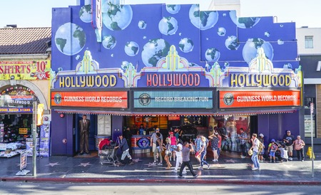 Hollywood Guinness World Records - LOS ANGELES - CALIFORNIA Editorial