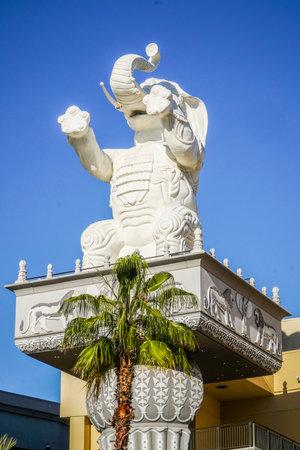 The Elephants at Hollywood and Highland Babylon Court Yard - LOS ANGELES - CALIFORNIA