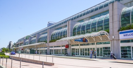San Diego Convention Center - SAN DIEGO - CALIFORNIA - APRIL 21, 2017 Editorial