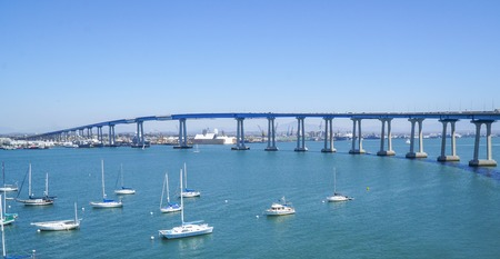 San Diego Coronado Bay Bridge - SAN DIEGO - CALIFORNIA