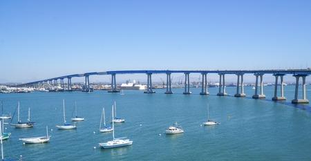 San Diego Coronado Bay Bridge - SAN DIEGO - CALIFORNIA Stok Fotoğraf - 79921111