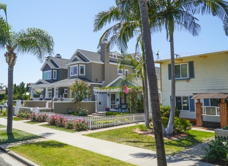 Beautiful mansions in the city of Coronado - SAN DIEGO - CALIFORNIA - APRIL 21, 2017 Editorial