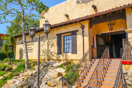 batallón: Mormon Battalion in San Diego Historic Site - SAN DIEGO - CALIFORNIA - APRIL 21, 2017