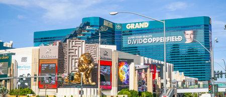 MGM Grand Hotel in Las Vegas - LAS VEGAS - NEVADA - APRIL 23, 2017 Stok Fotoğraf - 80136655