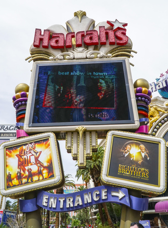 Harrahs Hotel and Casino in Las Vegas - LAS VEGAS - NEVADA - APRIL 23, 2017 Redakční