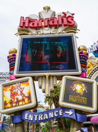 Harrahs Hotel and Casino in Las Vegas - LAS VEGAS - NEVADA - APRIL 23, 2017 Sajtókép