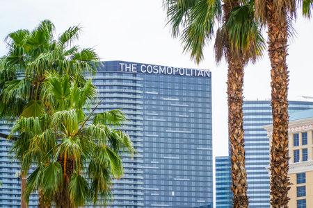 Famous Hotel in Las Vegas - The Cosmopolitan - LAS VEGAS - NEVADA - APRIL 23, 2017