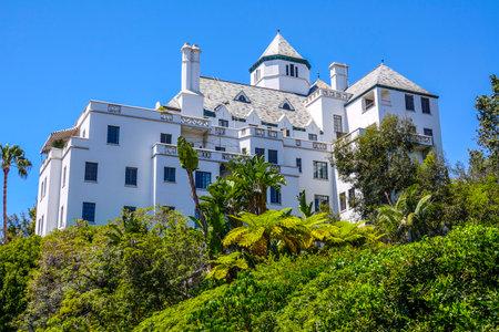 Chateau Marmont à Los Angeles - LOS ANGELES / CALIFORNIE - 20 AVRIL 2017 Banque d'images - 81462366