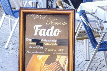 tagus: Fado night in Lisbon - a popular event in the city - LISBON - PORTUGAL - JUNE 17, 2017