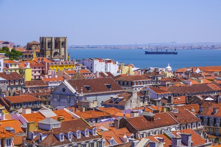 Over the rooftops of Lisbon